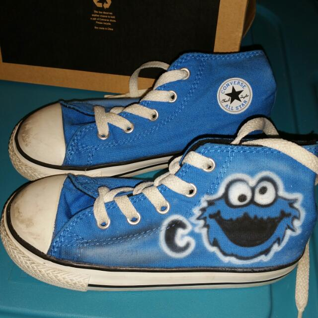 Cookie Monster Converse