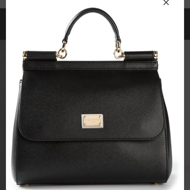 Dolce & Gabbana 黑色西西里包 sicily