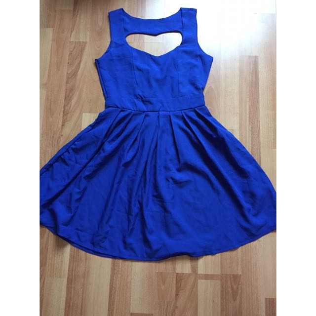Heart Shape Cut Out Skater Dress (incl Postage)