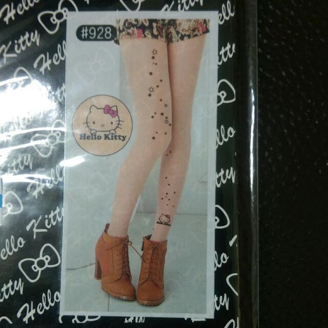 Hello Kitty 刺青絲襪