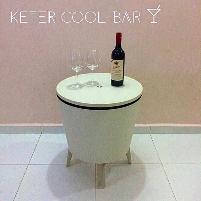keter pacific cool bar furniture on carousell