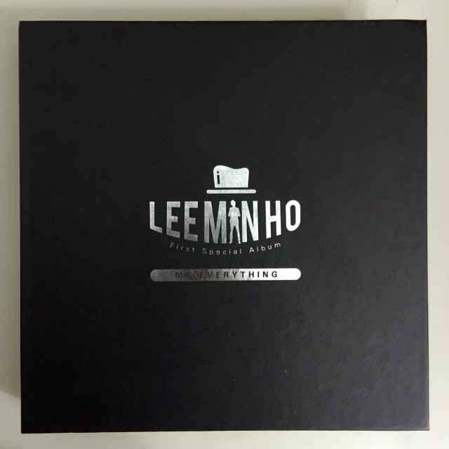 LEE MIN HO MY EVERYTHING ALBUM