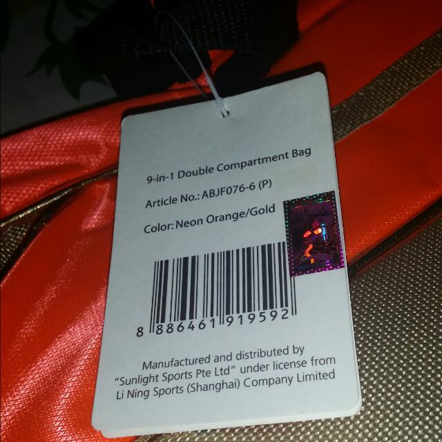 Li-Ning Badminton Bag