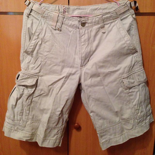 Polo Jeans 米白短褲