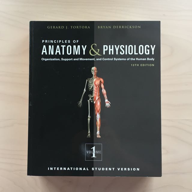 Principles Of Anatomy & Physiology 13th Edition, Books & Stationery ...