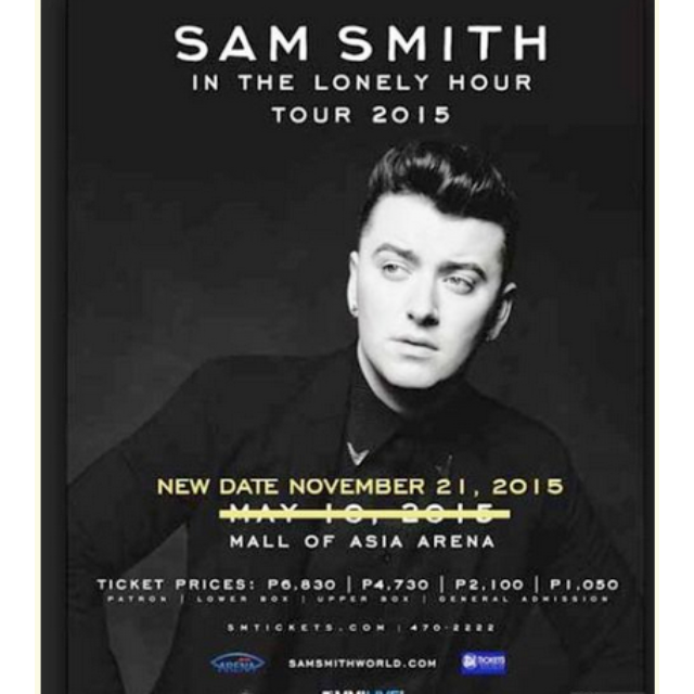 Sam Smith Concert