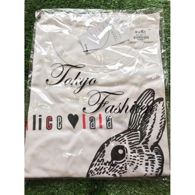 東京著衣/兔子T/白