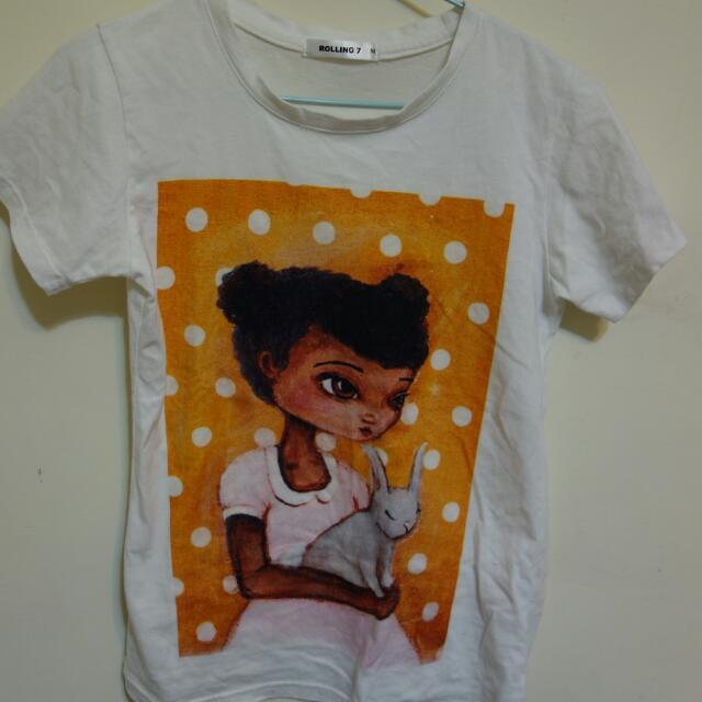 復古風T shirt 💓