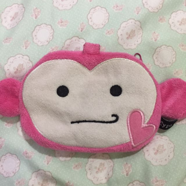 USED Typo monkey pouch