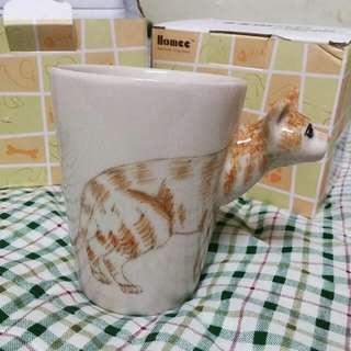 (訂)動物貓咪3D立體馬克杯