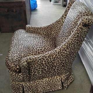 1940s Slipper Chair