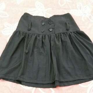 🌼可換物🌼高腰造型設計黑裙