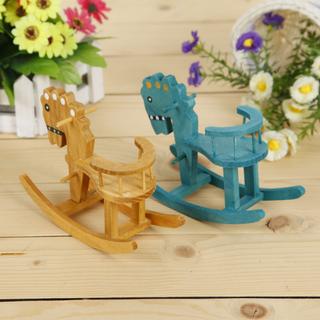 童年記憶收藏工藝品 迷妳懷舊木馬桌面擺件 精致拍照道具