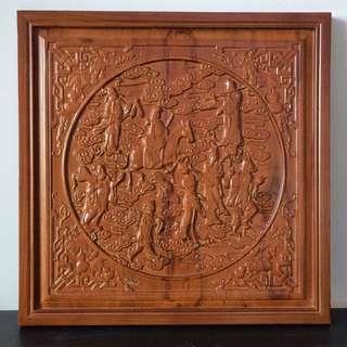 Wooden Craft- 8 Immortal Design
