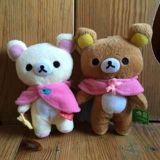 [出清][一組40] 拉拉熊 懶懶熊 懶妹 布偶 吊飾 7-11 集點