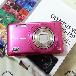 Olympus VG-130 Pink Camera