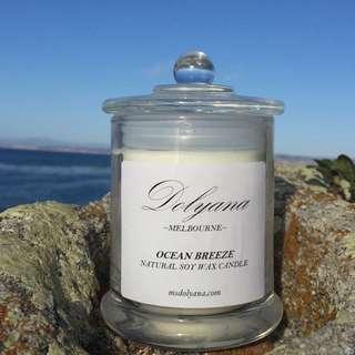 Dolyana Soy Candle - Ocean Breeze | Medium