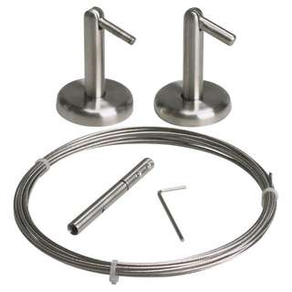 Ikea Stainless Steel Curtain Rods (DIGNITET)