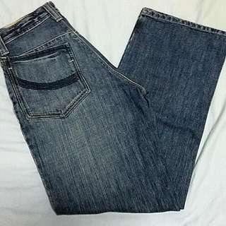 Penshoppe Straight Loose Denim Pants Size 29