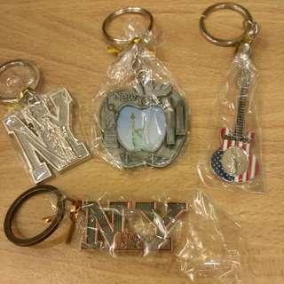 全新 紐約 鑰匙圈 吊飾