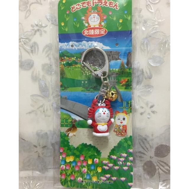 【哆啦A夢 小叮噹】日本地區限定 東京 北陸限定 螃蟹 手機吊飾 鑰匙圈 公仔