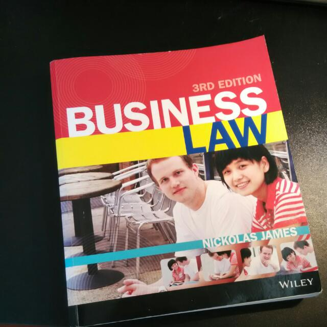 Business law by nickolas james 3rd edition isbn 9781118377840 books business law by nickolas james 3rd edition isbn 9781118377840 books stationery textbooks on carousell fandeluxe Choice Image
