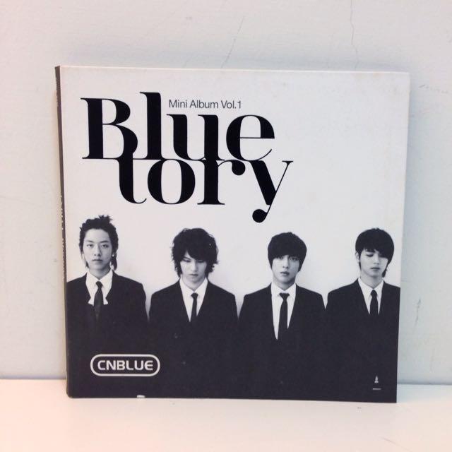 二手CNBLUE《BLUE TORY》迷你專輯