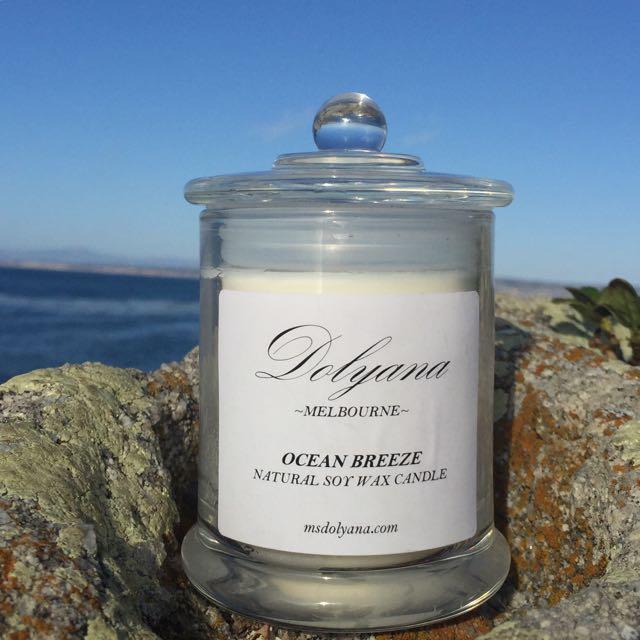 Dolyana Soy Candle - Ocean Breeze   Medium