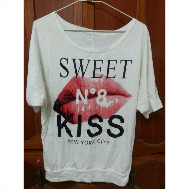 Kiss上衣(可斜肩)