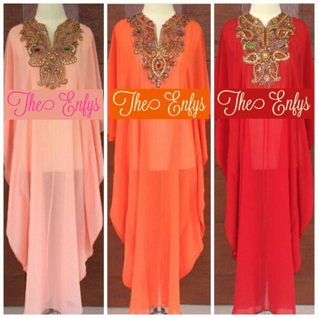 ⛔️closed PO! Many Pretty Colors! Maxi n Midi Pretty Kaftan Dress!
