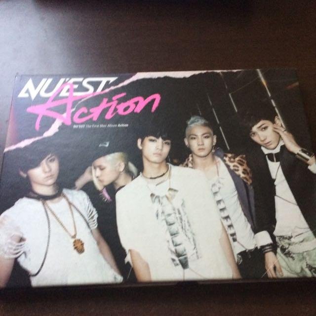 NU'EST Action 韓版