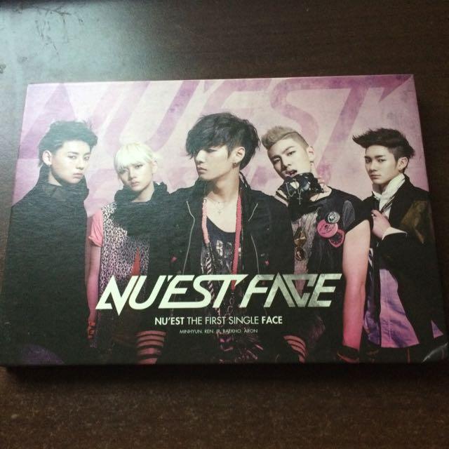 NU'EST Face 韓版