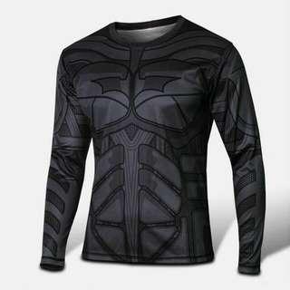 -RESTOCKED- Batman Dark Knight Compression Dry-fit Marvel DC Superheroes