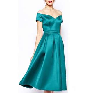 ASOS Turquoise Evening Dress