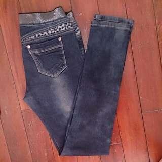 👖深藍色牛仔褲💗