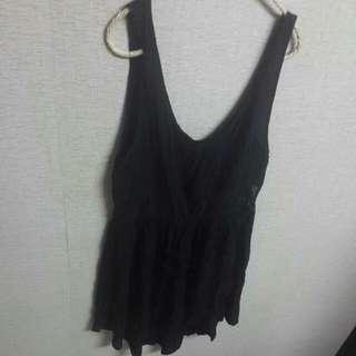 (二手)澳洲購入腰間透膚小洋裝