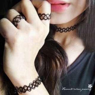 (預購)刺青戒指💍手環頸鍊