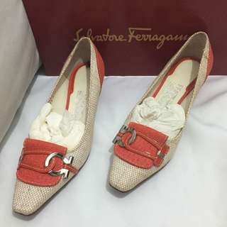 Ferragamo 經典 氣質女鞋全新