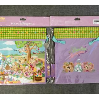 日本東京海洋迪士尼 全新正版 Duffy&ShellieMay 春季限定 收納束口袋