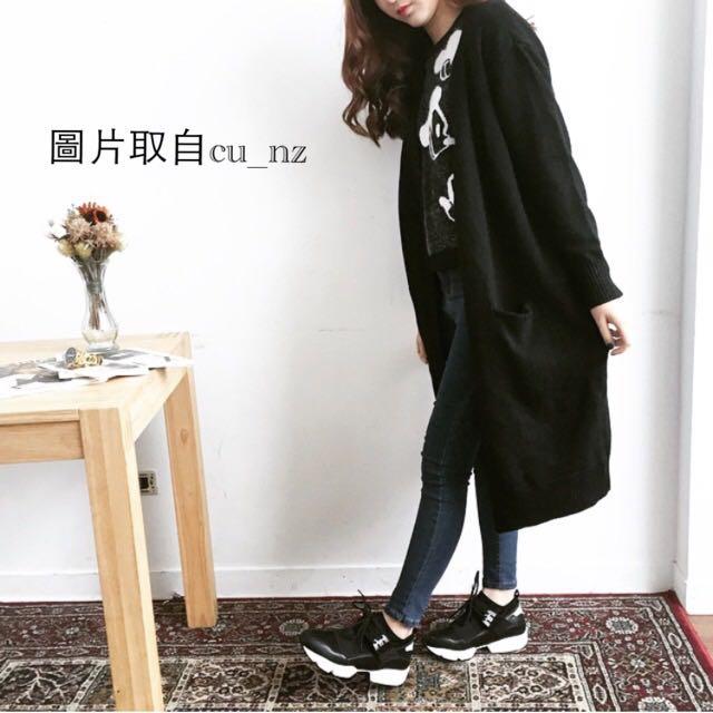 💥450 正韓黑色休閒鞋 23.5