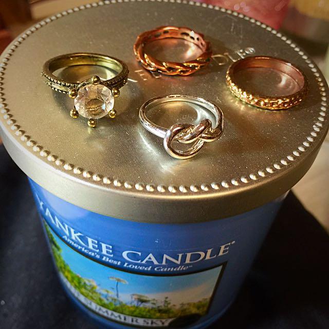 各式戒指(可單買)
