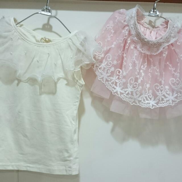 (保留)🎉女童上衣+短裙套裝
