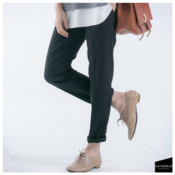 完美質感窄管燙線西裝褲,特價200