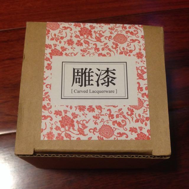 台北故宮博物院雕漆小盒子