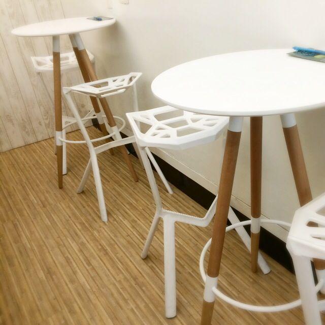 圓形吧枱桌 設計師高腳椅 高腳桌椅 吧檯桌椅