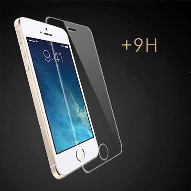 HD Tempered Glass Screen Protector iPhone 5 5S 5C 6 6 Plus