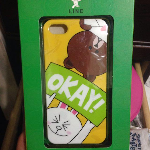 (全新)iphone5/5s手機殼❤️降