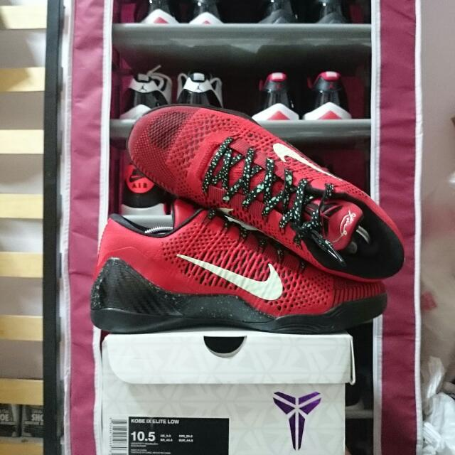 4776e9eded40 Reduced Price  Kobe 9 Elite Low University Red  Thriller  US10.5 ...