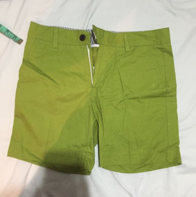 Olive Green Nautical Chinos