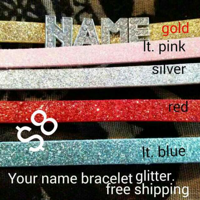 Your Name Bracelets